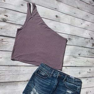 American Eagle Outfitters Tops - American eagle One Shoulder Tank Top